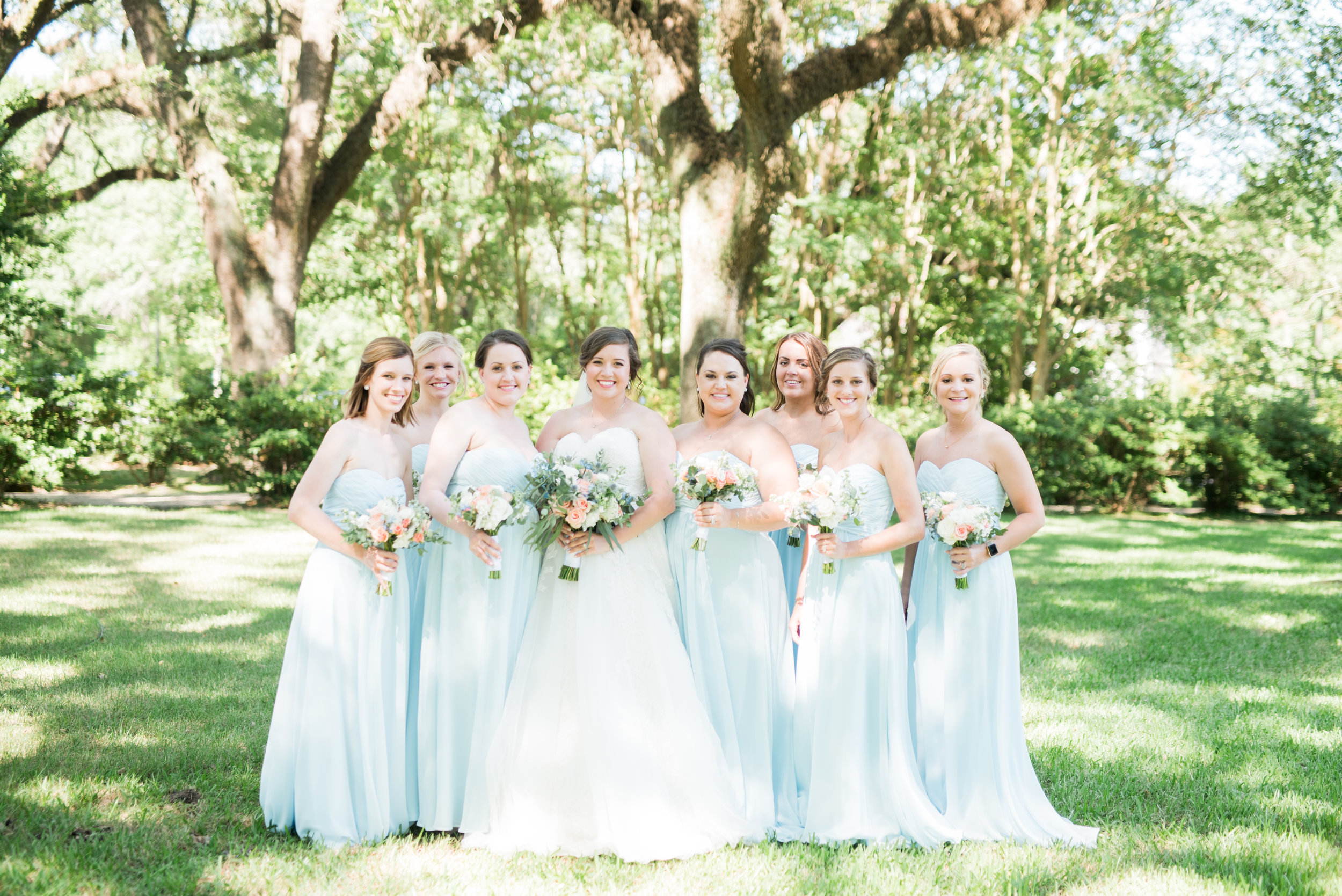 Alyssa and Heath Wedding Bridesmaids at the Bragg Mitchell Mansion in Mobile, Alabama on May  25th, 2019