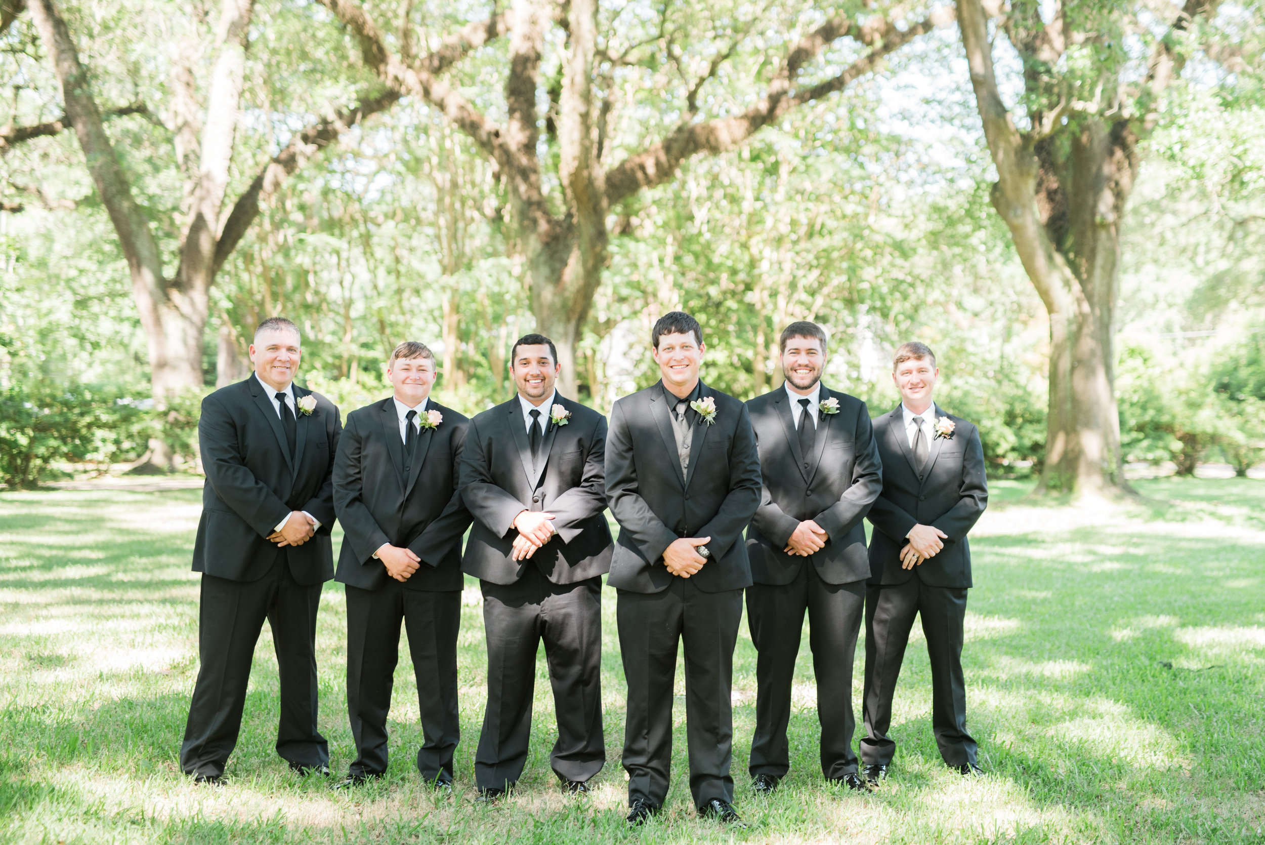 Alyssa and Heath Wedding Groomsmen at the Bragg Mitchell Mansion in Mobile, Alabama on May  25th, 2019