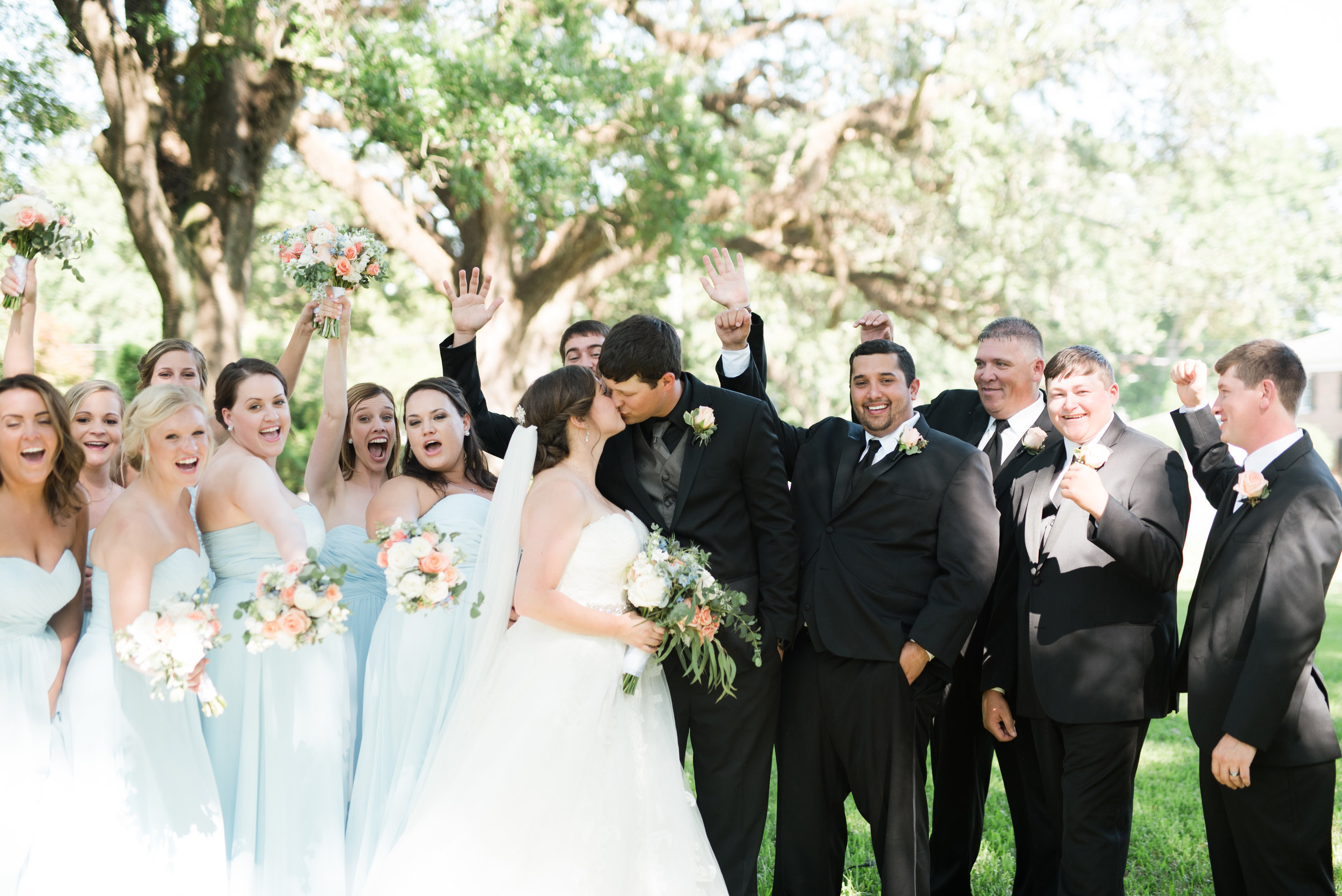 Alyssa and Heath Wedding Bridal Party at the Bragg Mitchell Mansion in Mobile, Alabama on May  25th, 2019