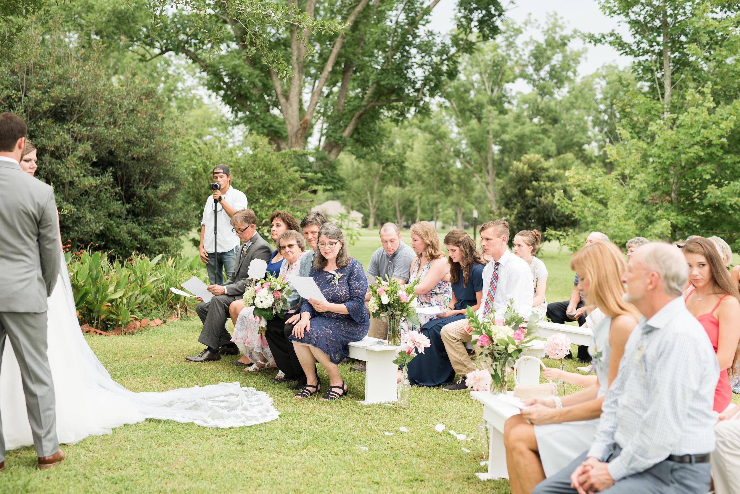Daphne Alabama Backyard Wedding   The Donalds