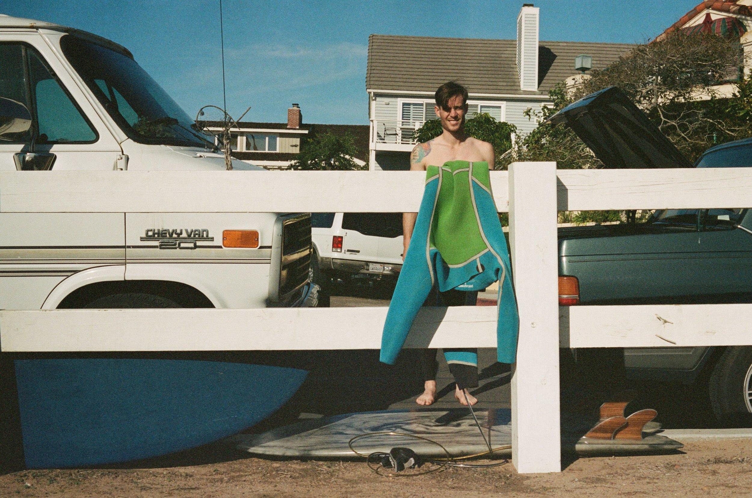 The volvo. (Ocean Beach, California)