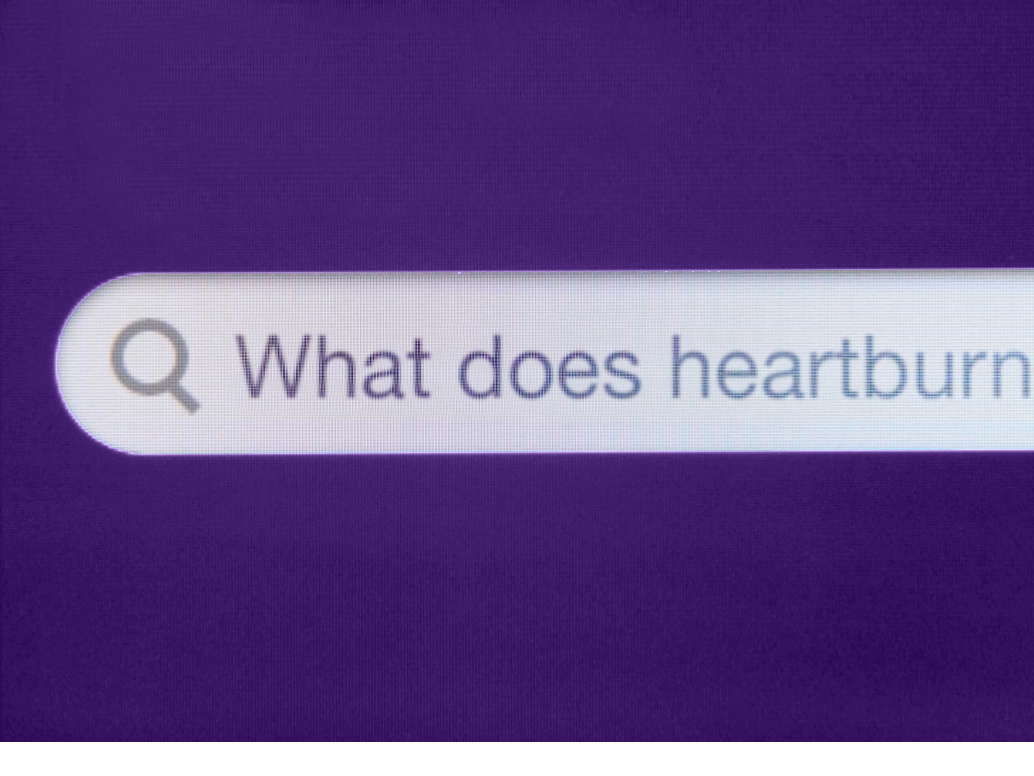 - As the new category leader in heartburn treatment, Nexium 24HR needed to establish itself as the first place to go to learn about heartburn.We identified the four most frequently searched questions about heartburn and created content to answer each question, establishing Nexium as a top search result.