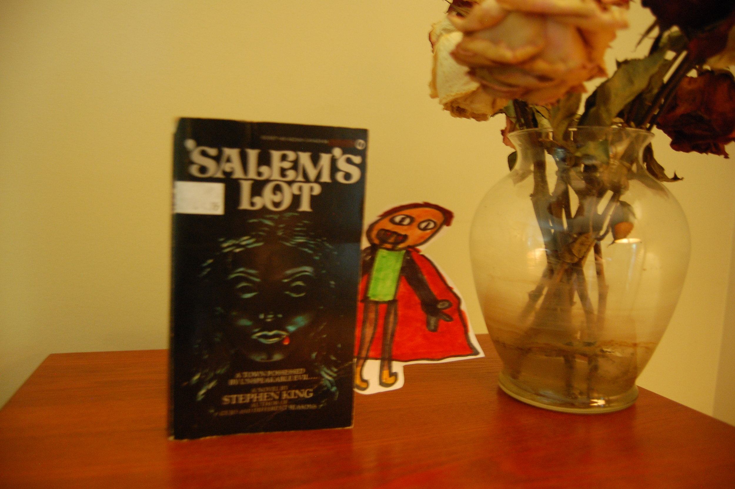 'Salem's Lot on Record Player