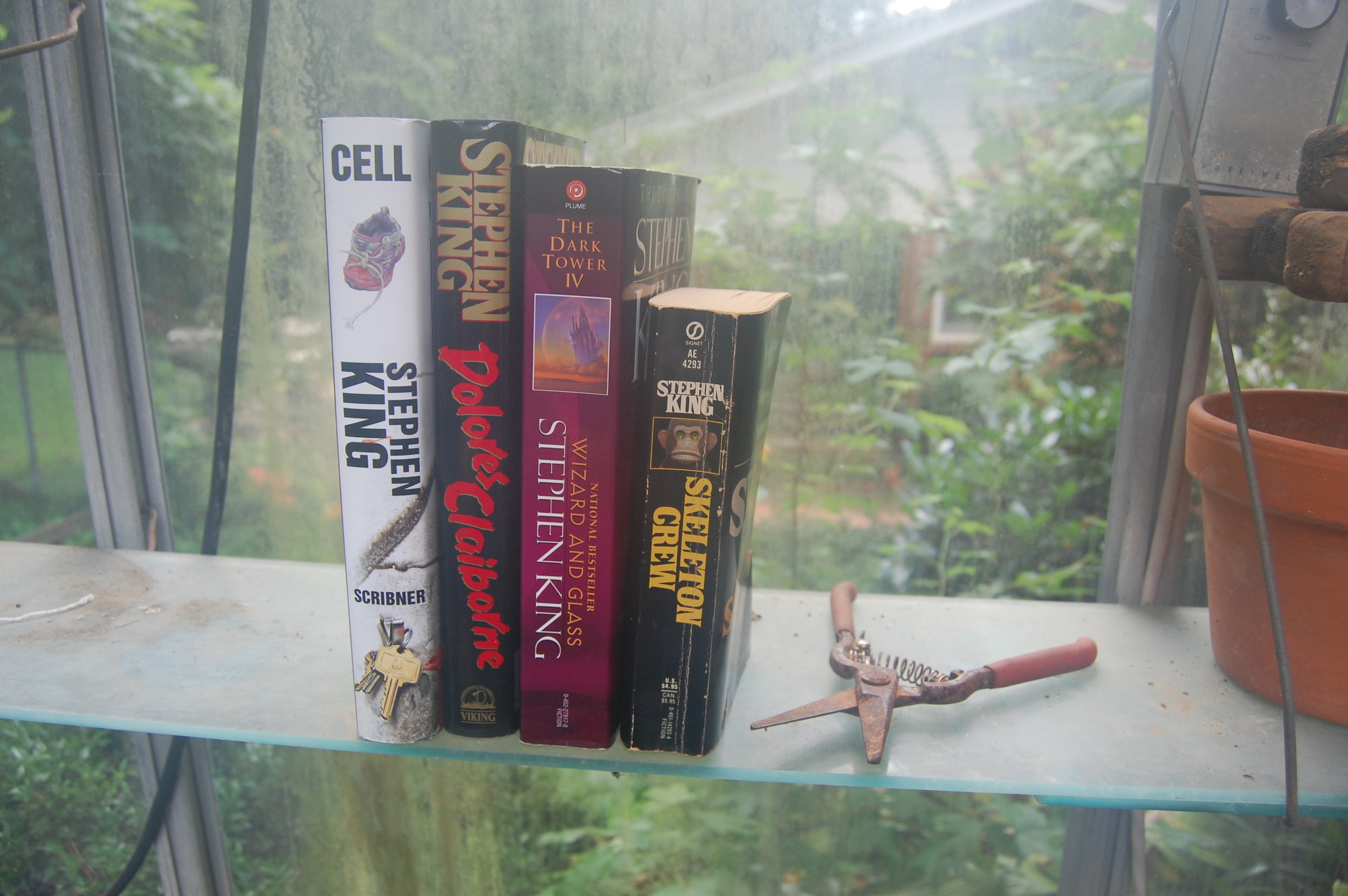 Stephen King Book Shelfie Vertical 2