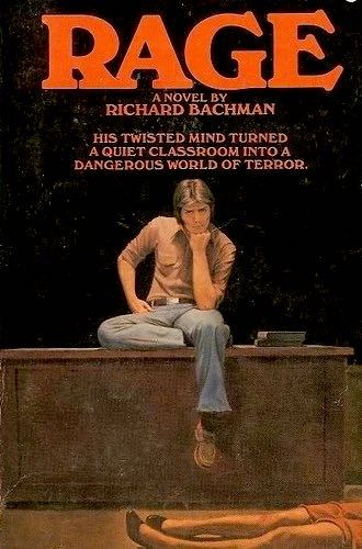 First Edition Cover of  Rage