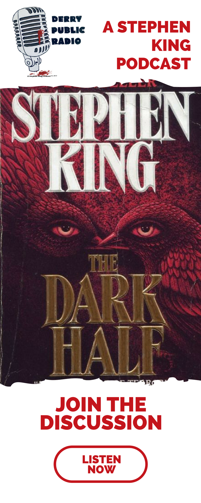 Derry Public Radio The Dark Half Podcast Stephen King