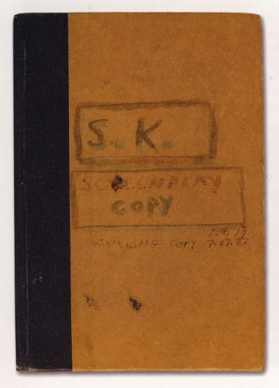 Annotated copy of The Shining