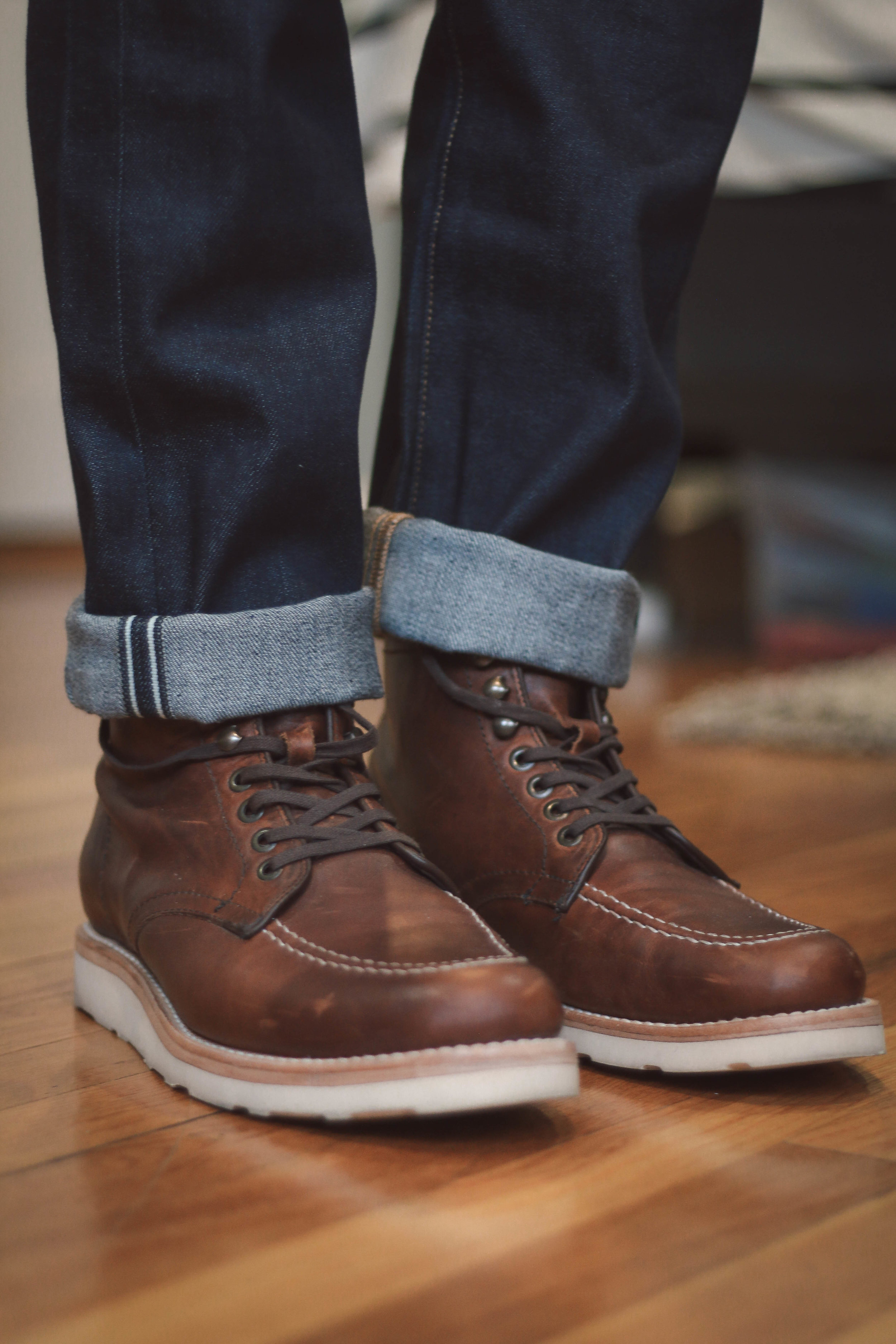 Japanese Selvedge jeans from Levis Made & Crafted i bought from the outlet for $90