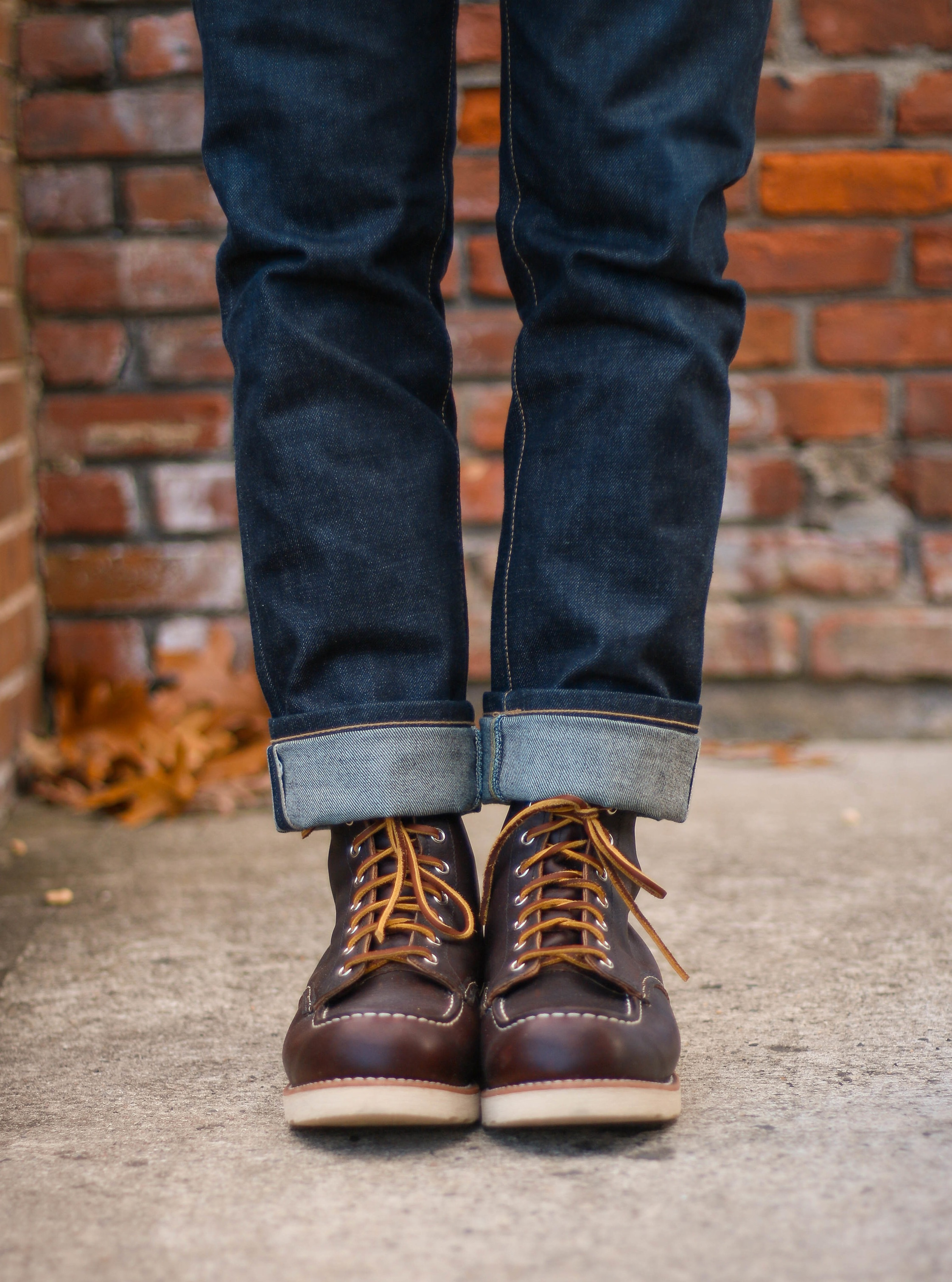 Make sure your boots fit before its too late to exchange them! Ft. Red Wing Moc Toe 8138