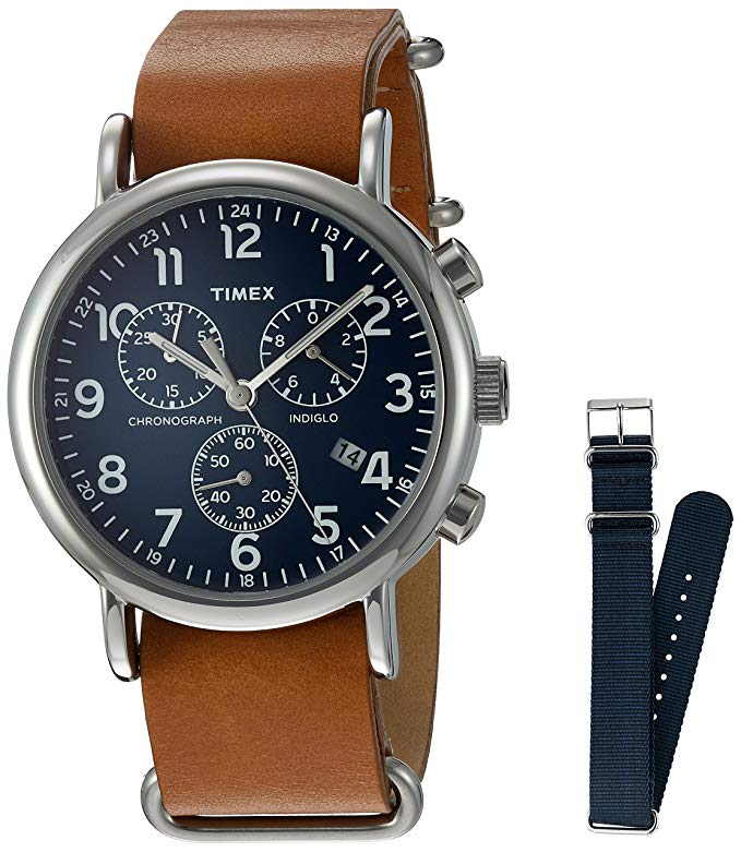 timex weekender chronograph watch gift for guys amazon