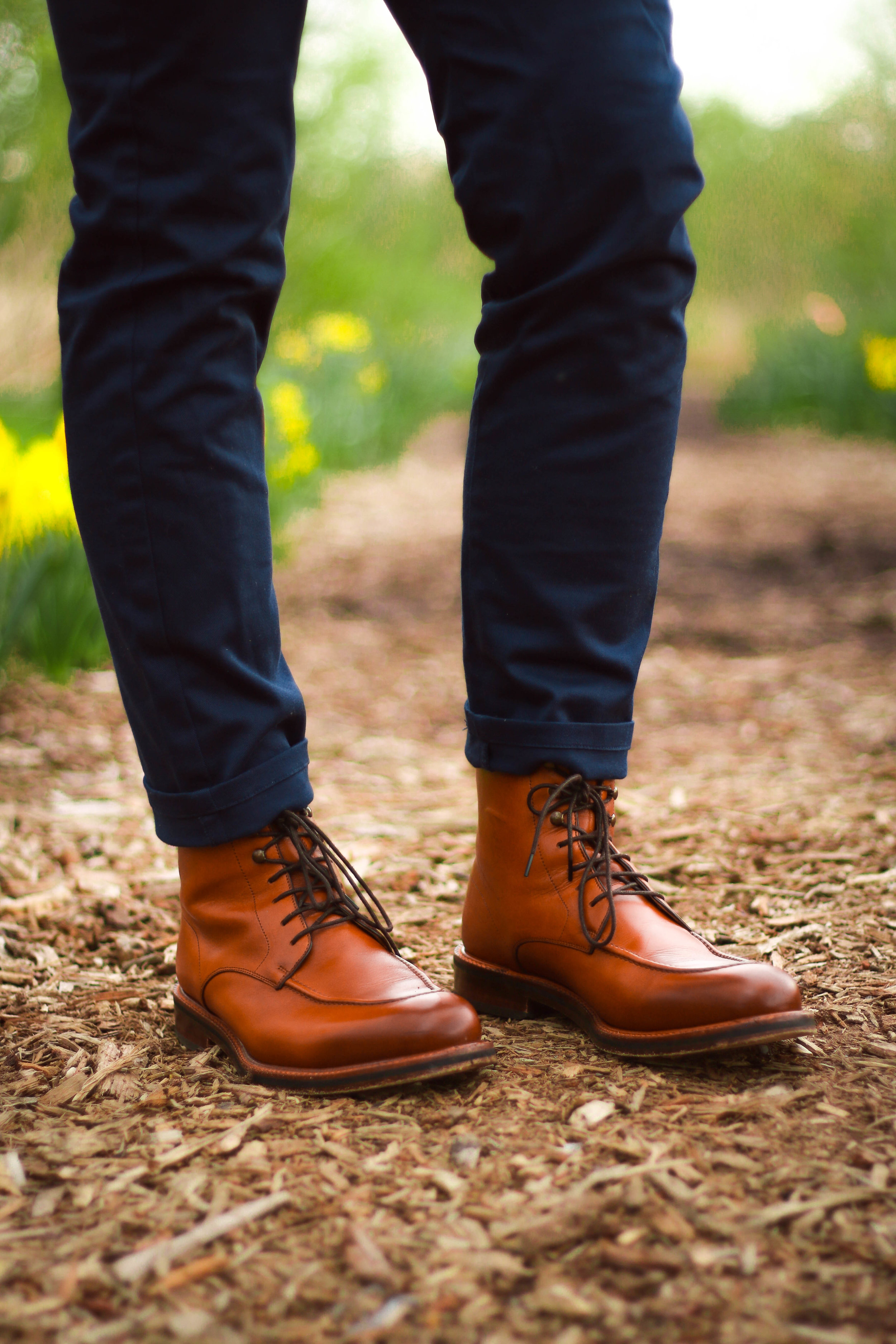 Everyone loves a good moc toe! A balanced design like this one makes it incredibly versatile.