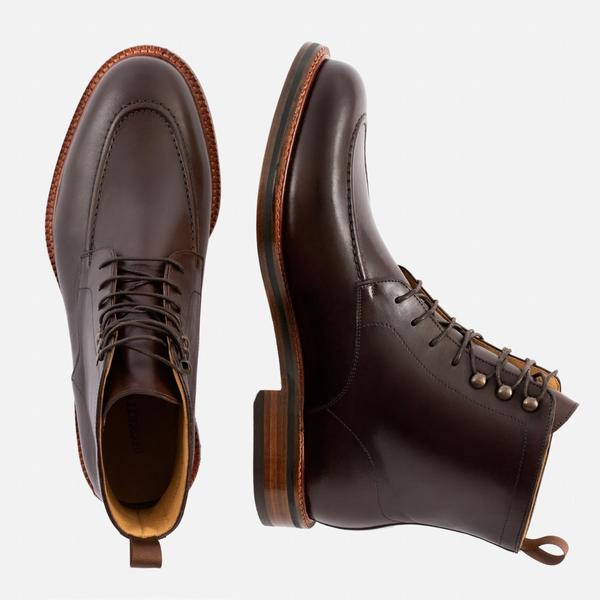 Check out all the colors of the Gallagher boot! This one is a beautiful chocolate brown!