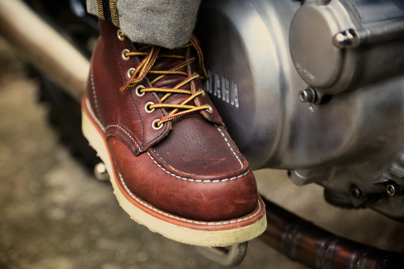 Red Wing Motorcycle