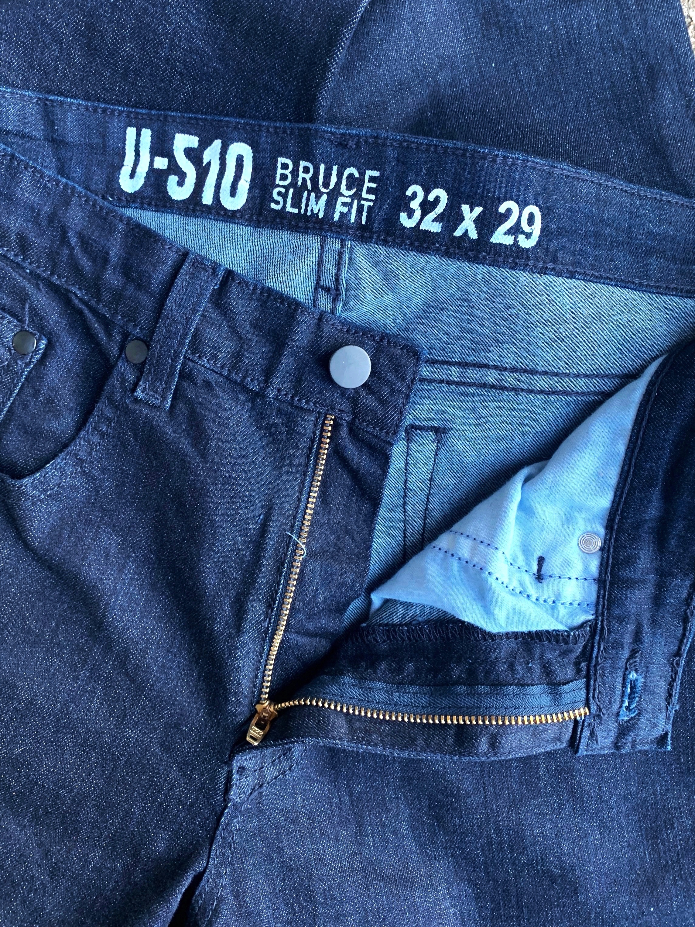 Under 510's signature Bruce jean, coming in inseams down to 26 inches, now in Cone Denim fabric!