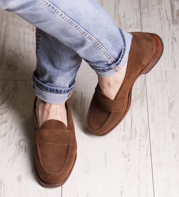 A stock photo from the Meermin website! Love the way these look with denim and no socks!