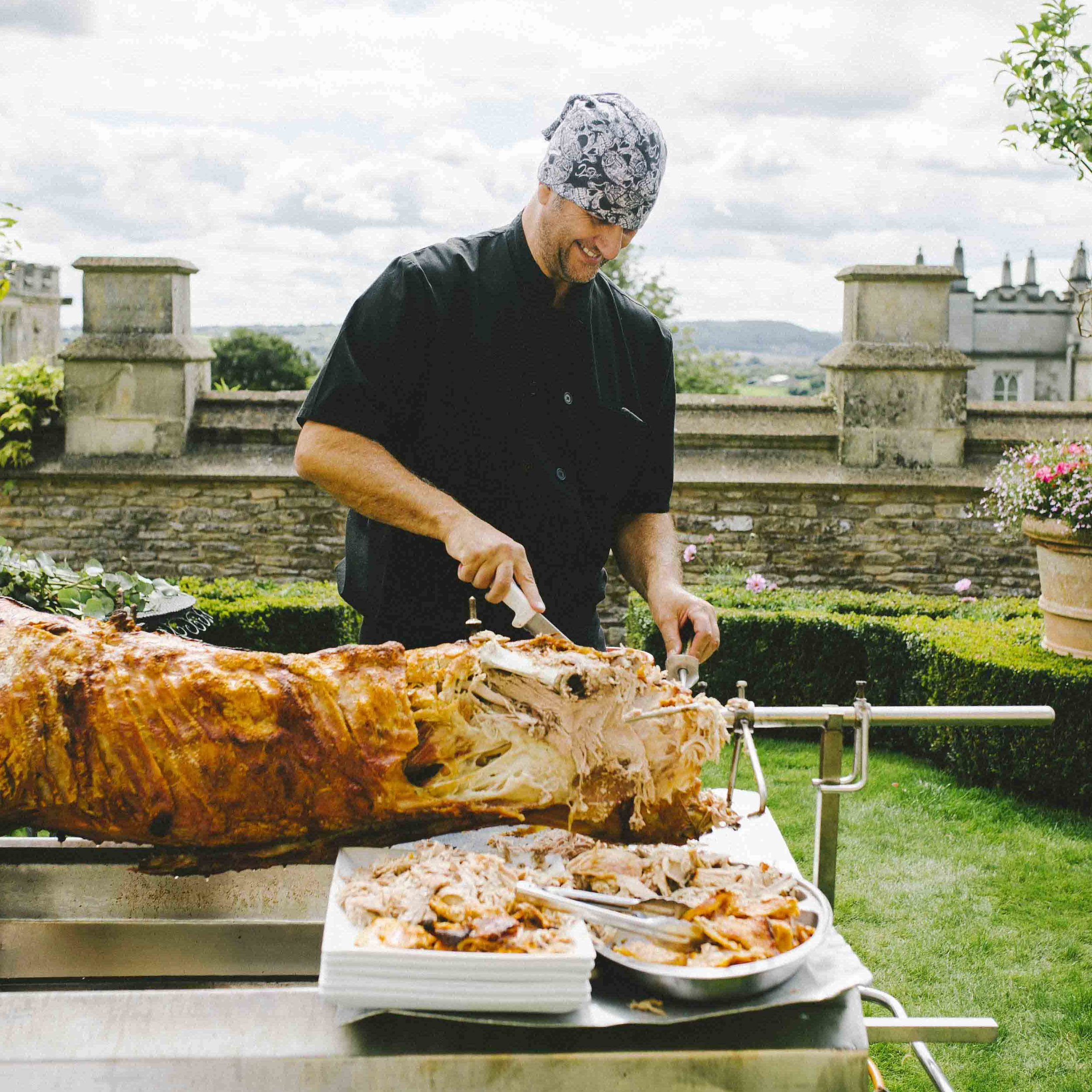Hog Roast Event Catering - Weddings, Private and Corporate