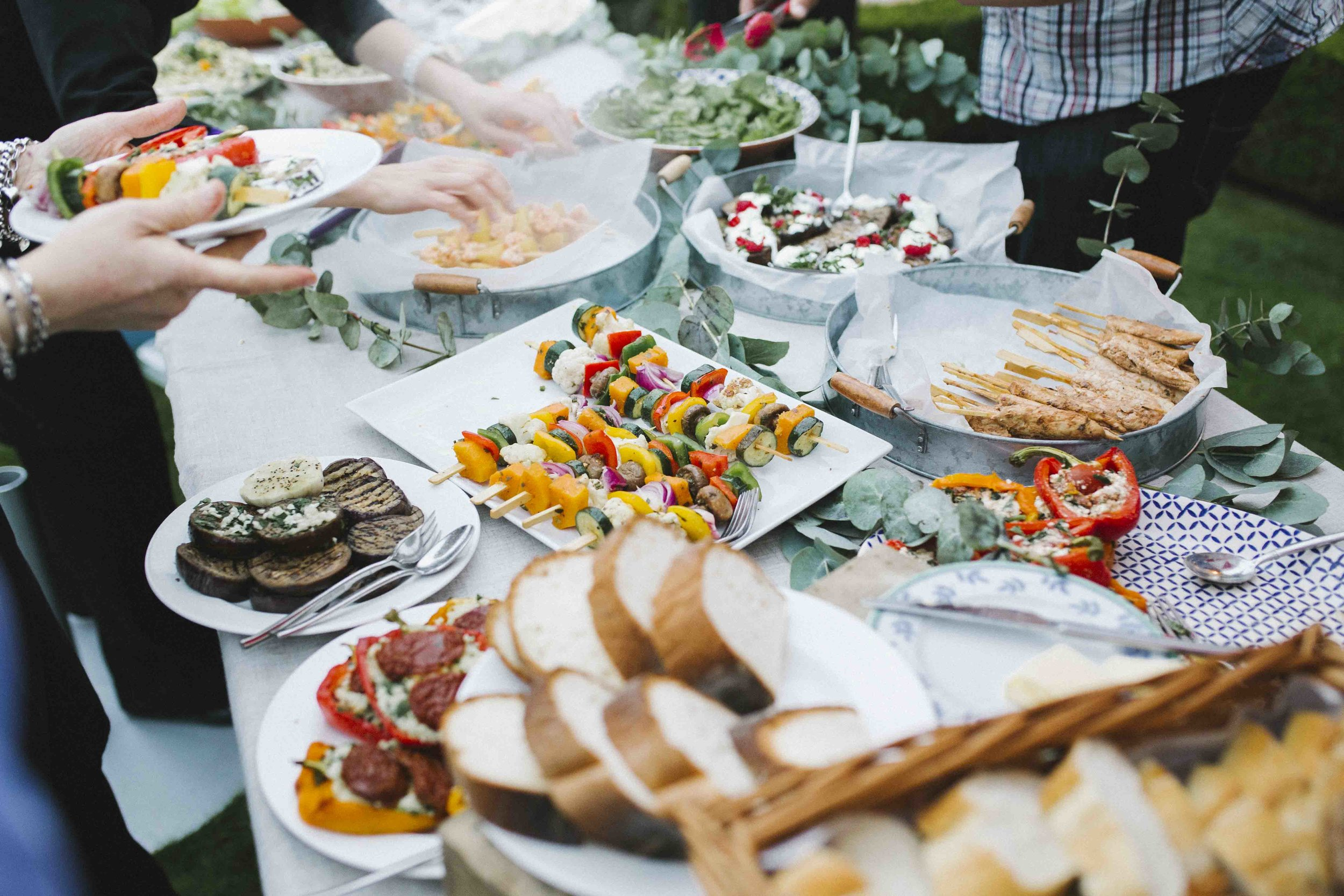 Informal Buffer Catering - Private and Corporate Events