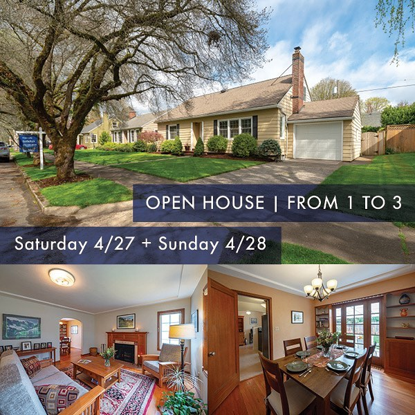 🎉🏠 OPEN HOUSE at my newest listing, and this one is a STUNNER!  Come by this SATURDAY or Sunday from 1:00 to 3:00 to take a tour of this beauty. 7326 N Hurst Avenue in the coveted University Park Neighborhood! Over 3000 SF with expansive master suite and ADU potential! See you there! 🏠☀️🌻 #northportland #portlandoregon #urbanportlandhomes #openhouse #portlandrealestate #portlandrealtor #cascadesothebys #sothebysinternationalrealty