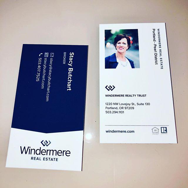 I LOVE my new business card! #windermerebroker #windermere #liveyourbestlife #conciergerealestate #portlandoregon #portlandoregonrealestate