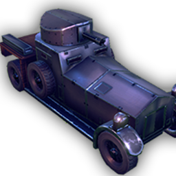 Combat Car - Fast and lightly armoured, the Combat Car is great for flanking, scouting, and attacking support units.+ Fastest armoured unit.- Vulnerable to anti-armour.