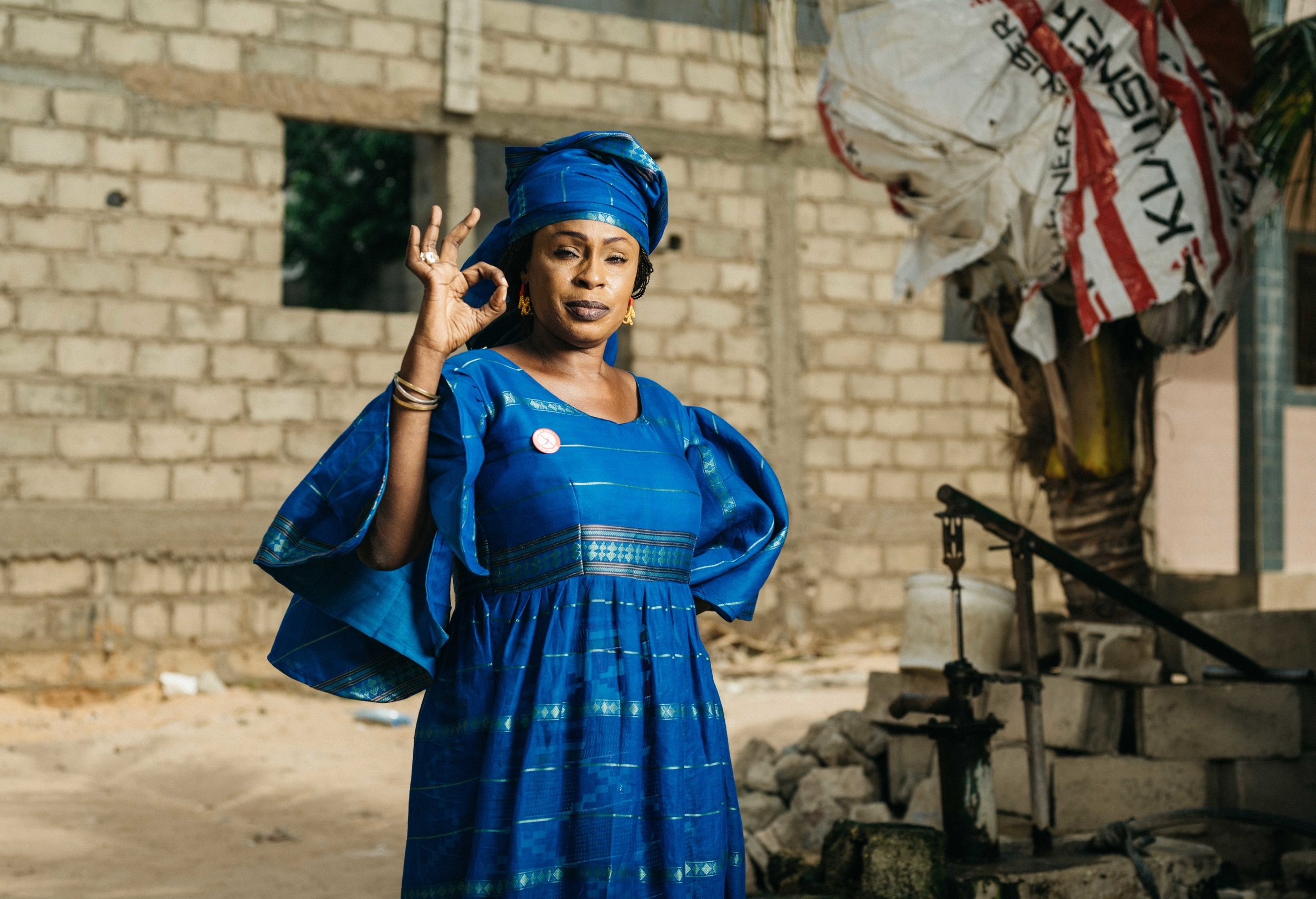 leadership woman senegal