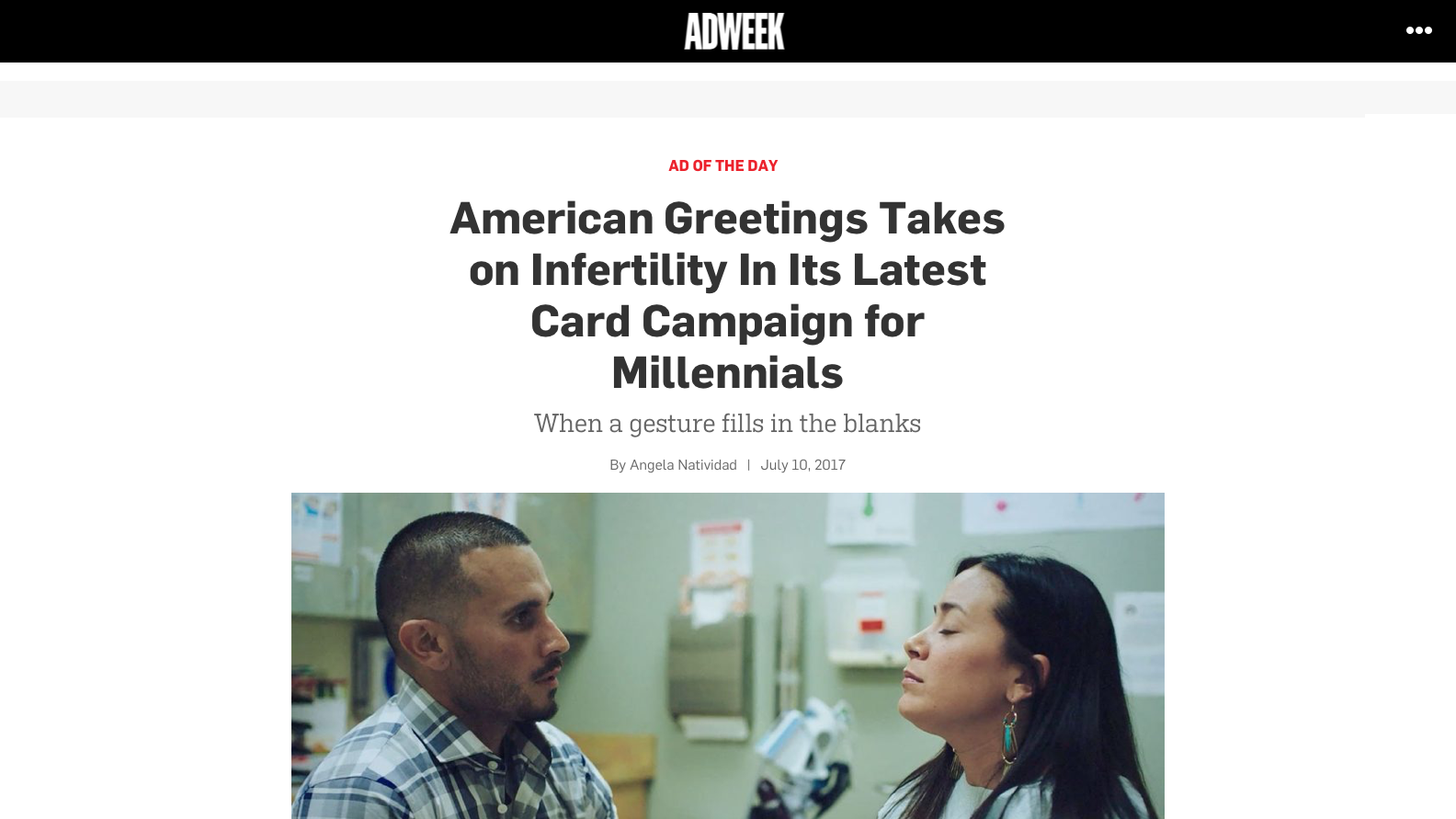 American Greetings Takes on Infertility In Its Latest Card Campaign for Millennials – Adweek.png