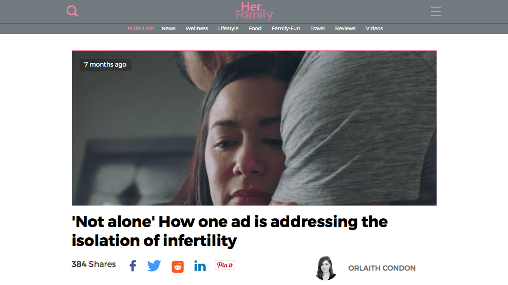 'Not alone' How one ad is addressing the isolation of infertility _ HerFamily.ie2.png