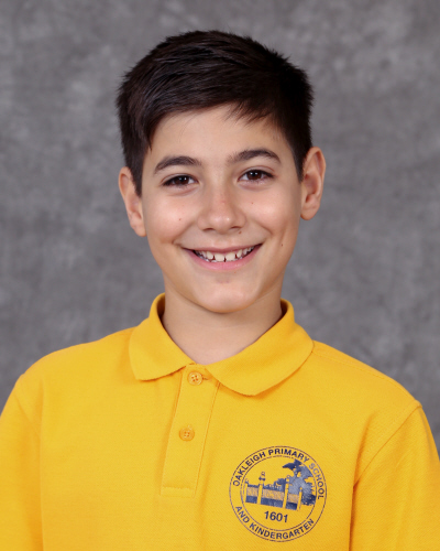 My name is Angelo and I am 11 years old. I live in East Bentleigh with my parents and my sister. I am one of the School Captains. My hobbies are playing soccer and playing PS4. I applied because I want to help grow the school and make it better. I hope to achieve many things, but my most important thing is making everyone happy within the school grounds.
