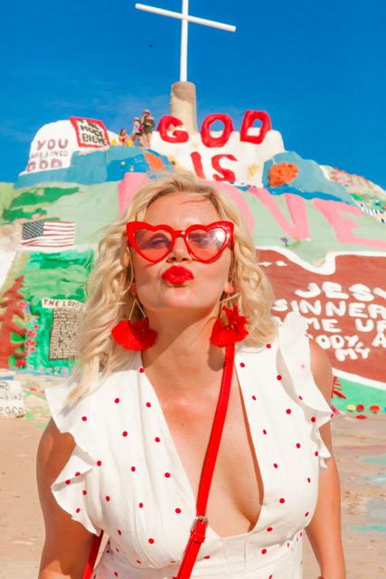 Dress:   Reformation    Earrings:  Forever 21-   Tassel Drop Earrings - $5.90   Sunglasses:   Forever 21-MELT Acetate Oval Sunglasses- $48