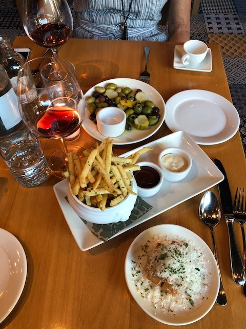 The food at Bistro Agnes!