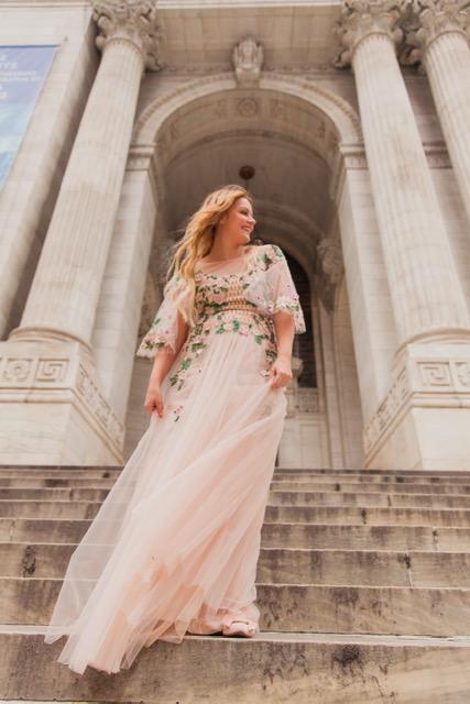 Dress: Marchesa