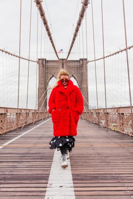 The bridge is my runway! LOL!
