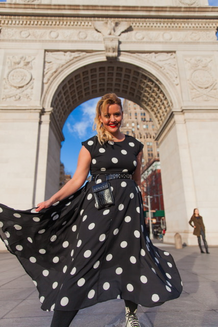 Polka dots will never go out of style!