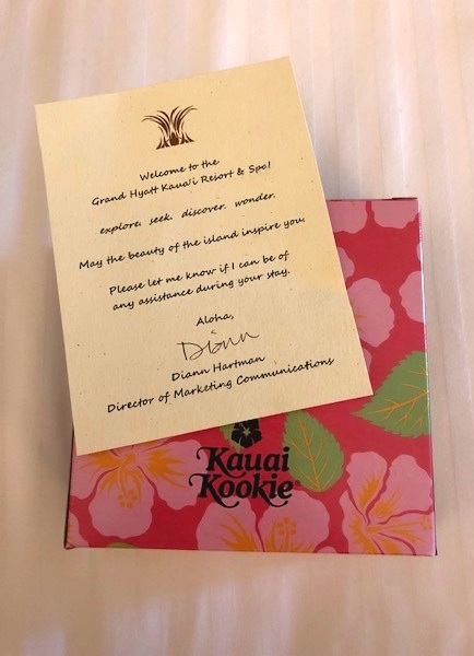 The warmest welcome from their friendly and hospitable staff! Not to mention the Kauai Kookies are delicious and a must have on the island!