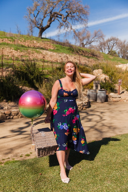 Celebrated my birthday at Sunstone Winery! Wearing the cutest dress from Anthropologie :)    Dress: Anthropologie: