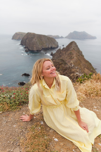 Catching some sun and enjoying every moment here in the Channel Islands!