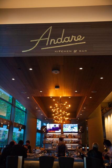The Andare Restaurant & Bar!