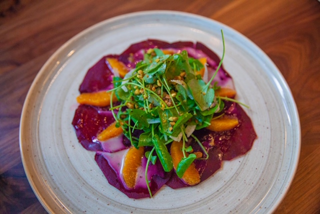 For all you Vegan lovers! The beet salad is to die for!