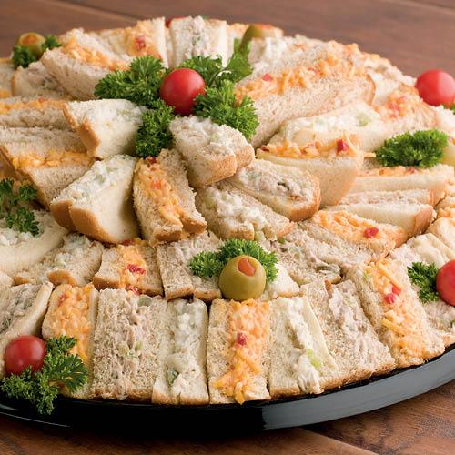 Tea Sandwich Platter - $60.00