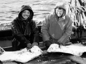 Bob and Crew cleaning halibut.jpg