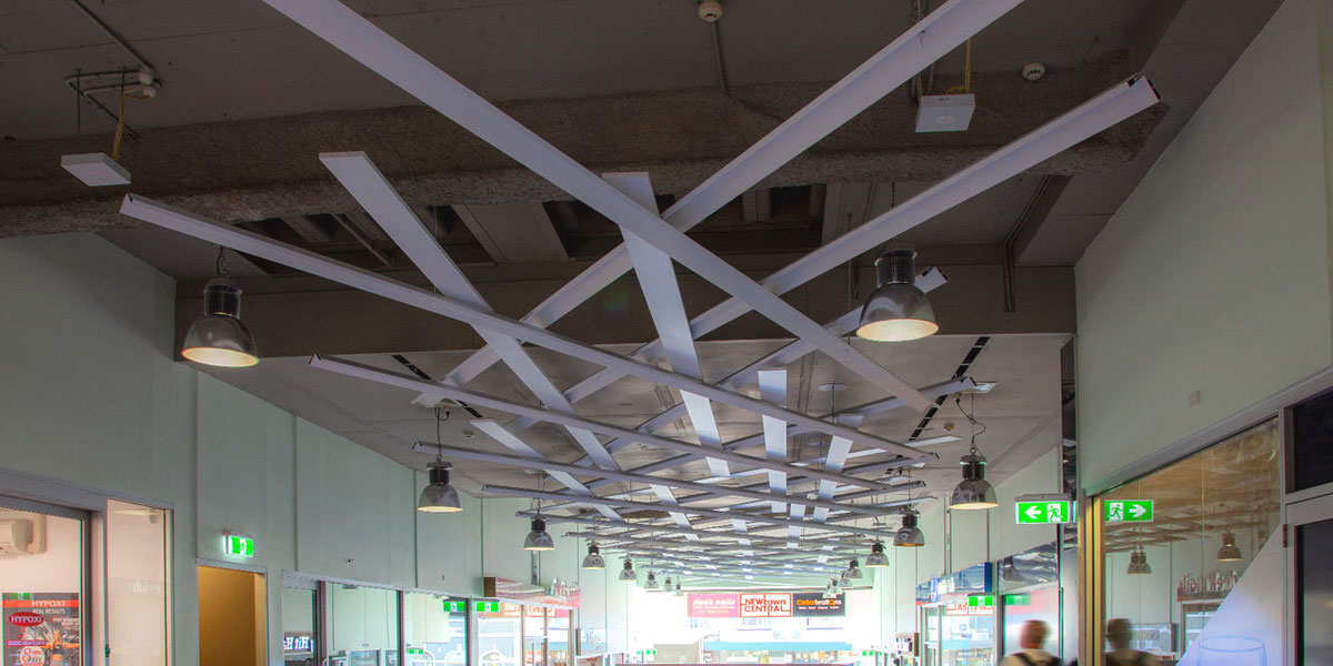 Adaptive reuse ceiling assembly