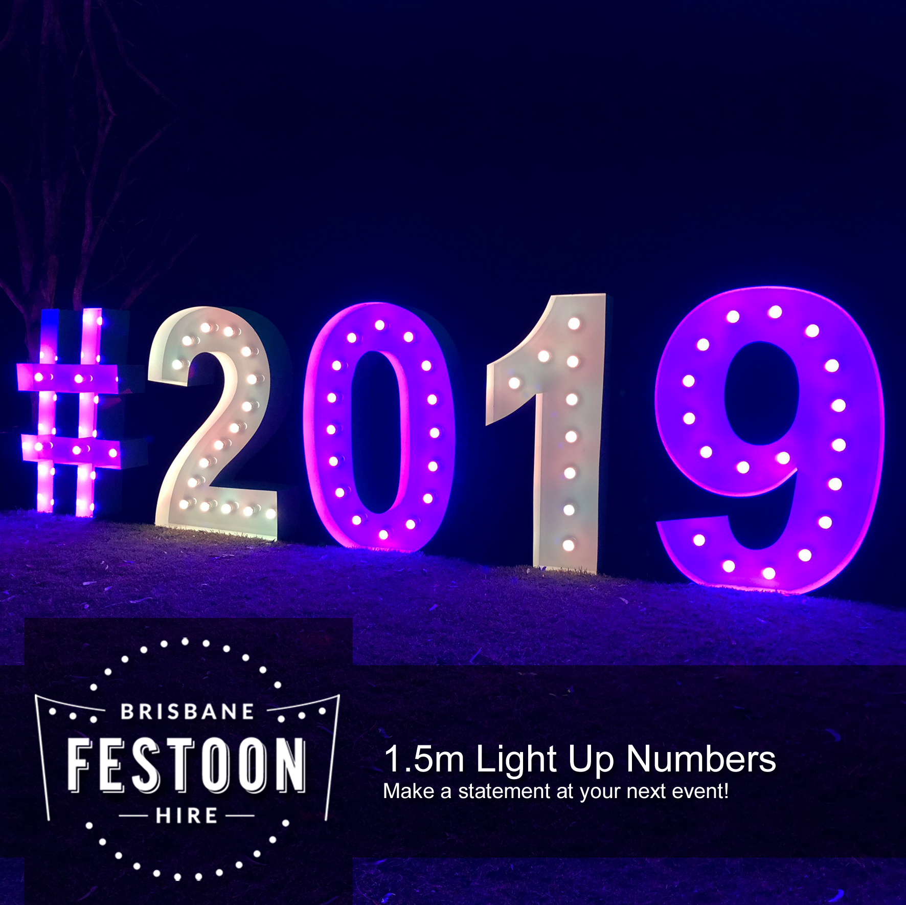 Brisbane Festoon Hire - Light Up Number Hire.jpg