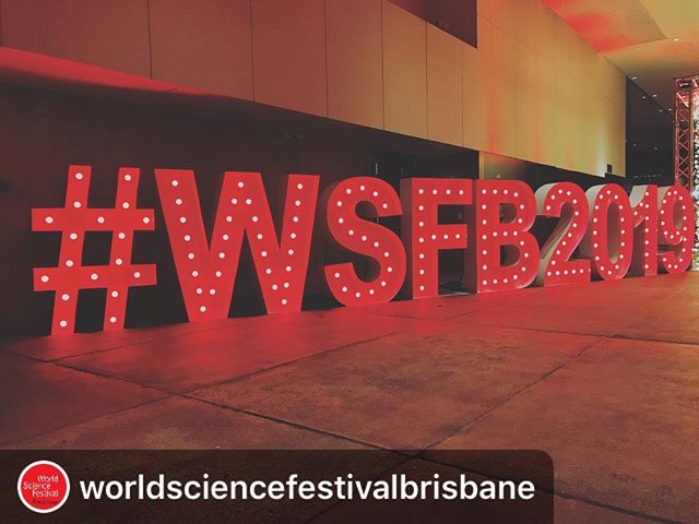 • SCIENCE FESTIVAL •  #Repost @worldsciencefestivalbrisbane ・・・ It's time to flick the switch on those #BraveNewIdeas! #WSFB2019 kicks of with incredible science in incredible locations @qldmuseum and beyond. Join us and share your adventure! #thisisqueensland #curiocitybrisbane