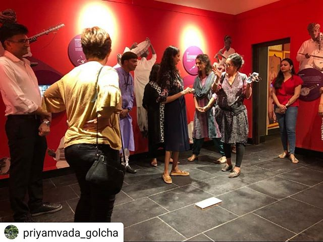 #Repost @priyamvada_golcha • • • • • First museum walk through of @jaipurvirasat  foundation's soon to open exhibition that illuminates the skills, diversity and contemporary potential of Rajasthan's music  #jaipur #musicmuseum #folkmusicmuseum #pinkcity #newmuseum #museumsofindia #museumsofjaipur #newmusrum #musrumsofrajasthan #rajasthantourism #museumsofasia #jaipurvirasatfoundation  @museumsofindia