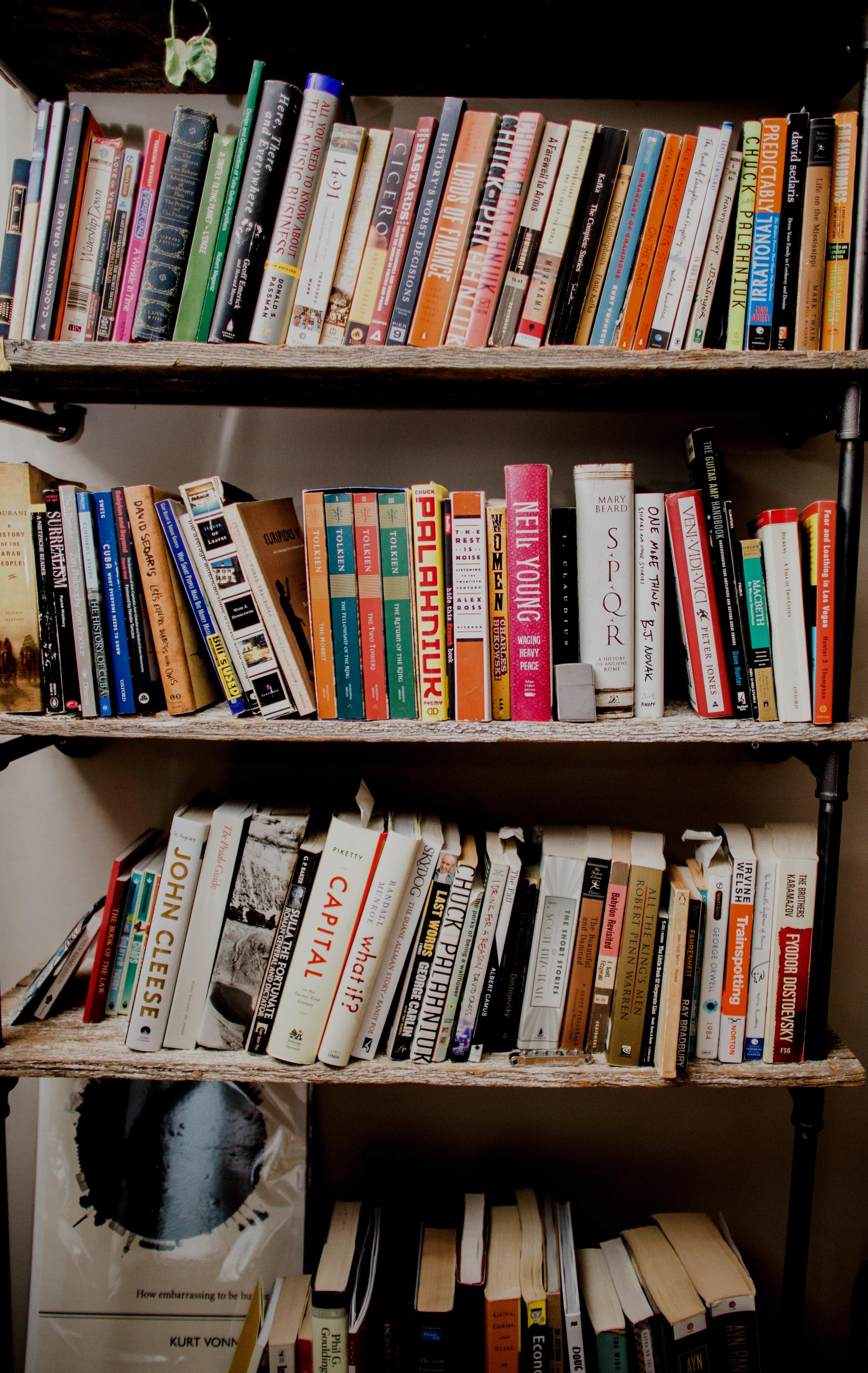 Bookshelf - Recommended Books