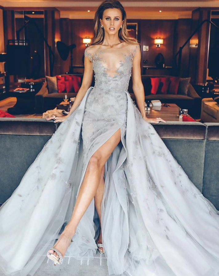 Brit Davis  in     Paolo Sebastian     via    Lana Wilkinson