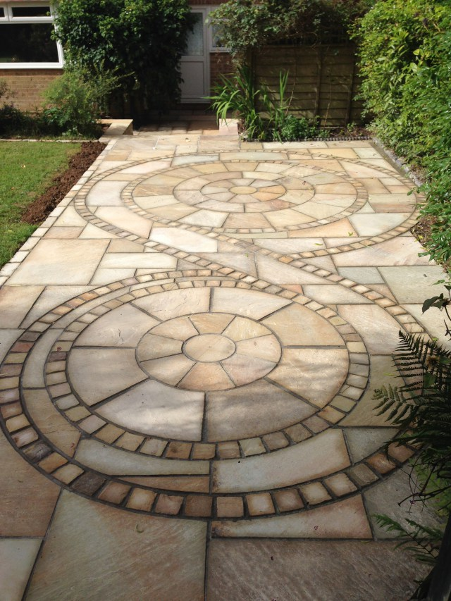 Mint Fossil Indian Sandstone Circles