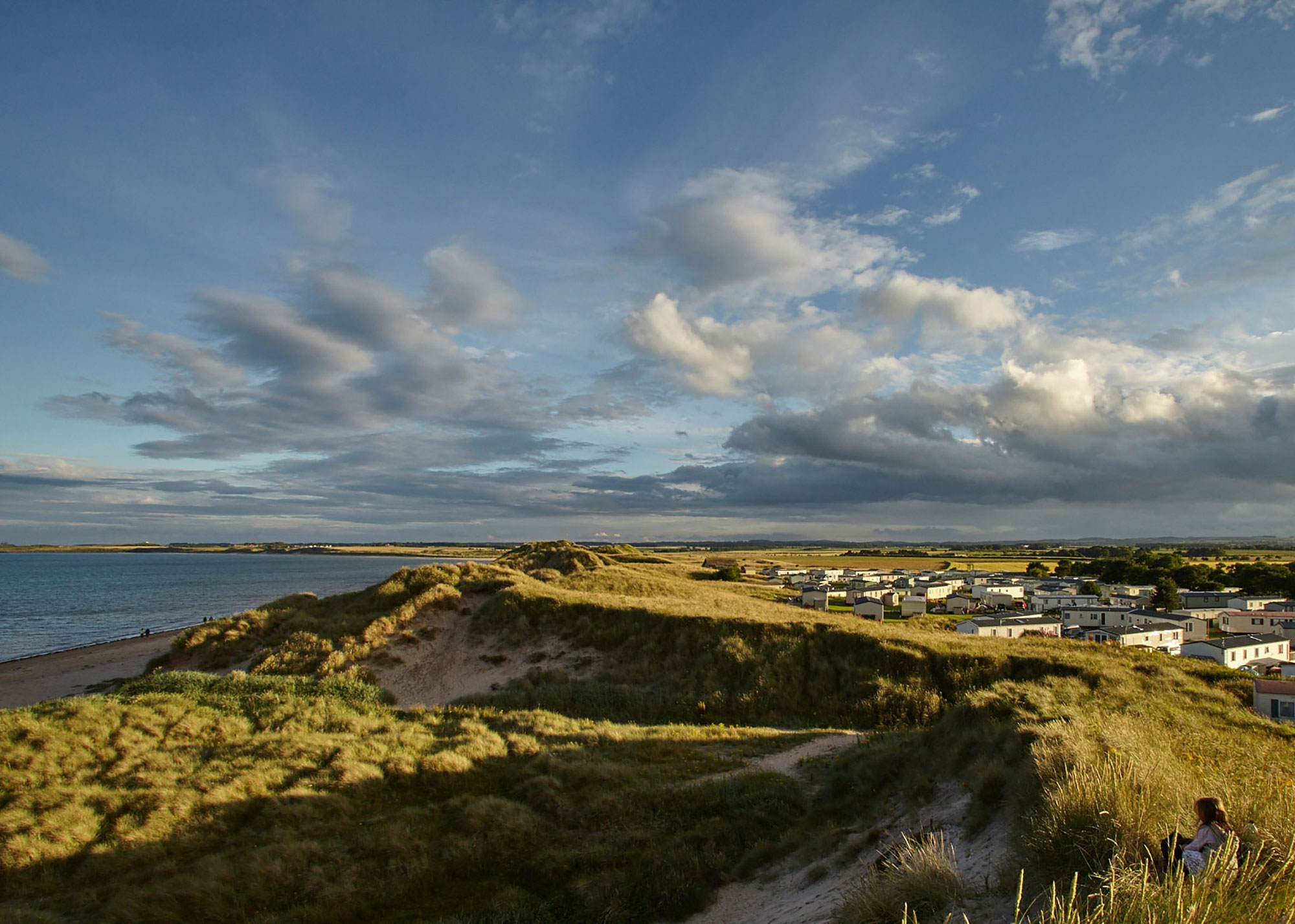 BEADNELL BAYCARAVAN PARK - Full web build, social and ppc strategy & management.