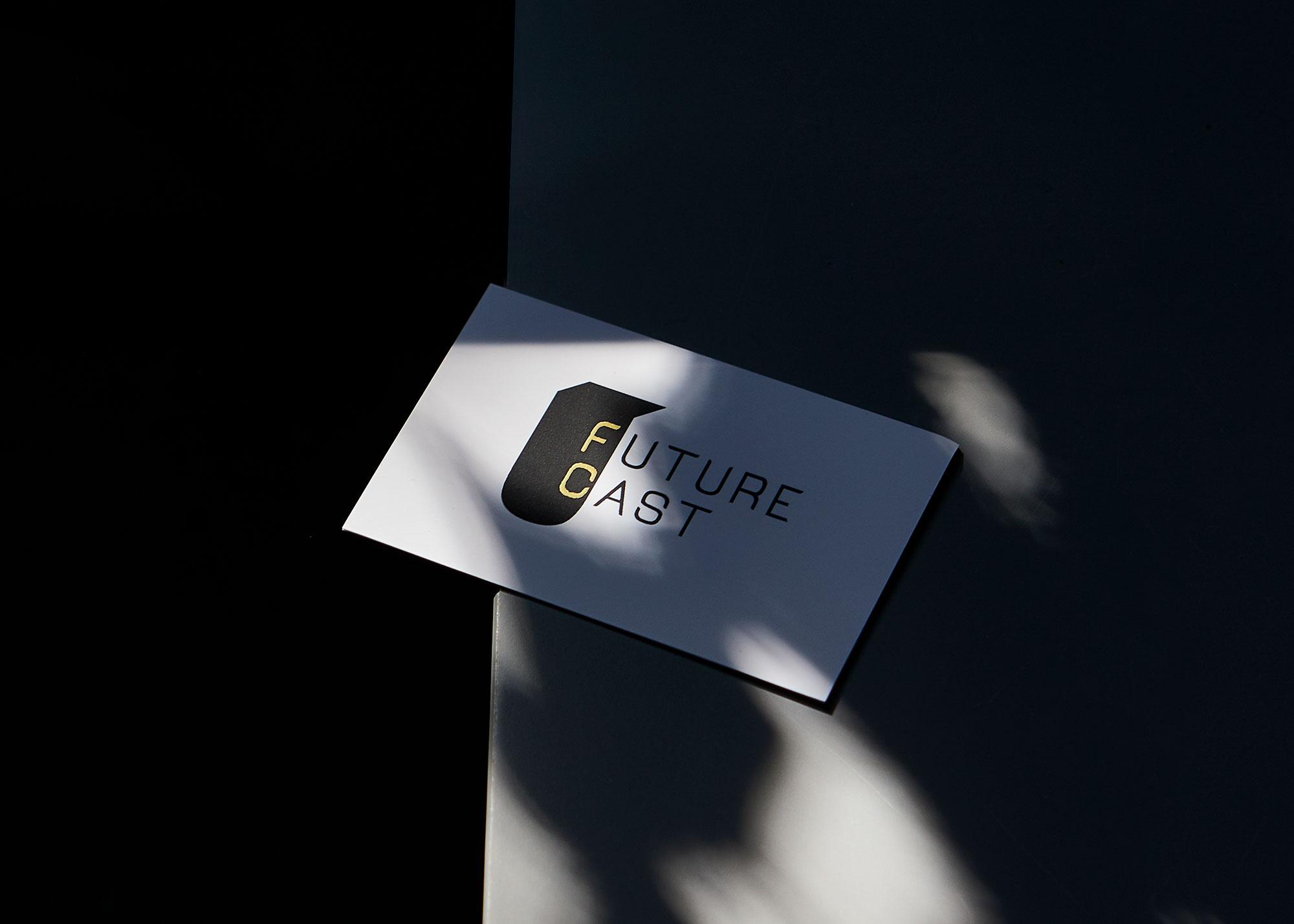 FUTURE CAST - Branding, business cards and website development