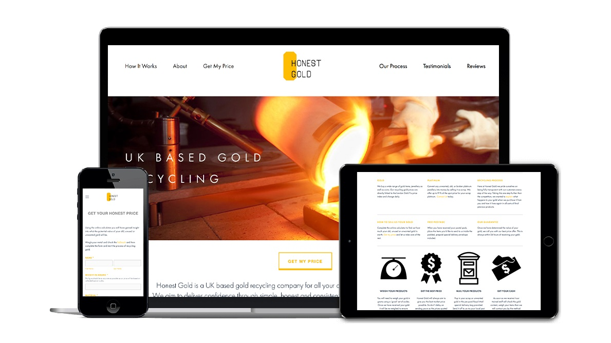 Fully Optimised website by WAM